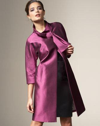 Lela Rose bow coat
