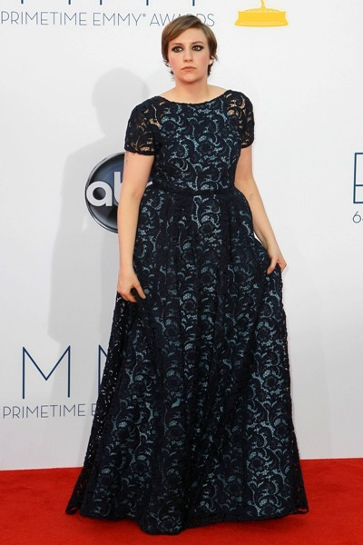 Lena Dunham: Lady in Lace
