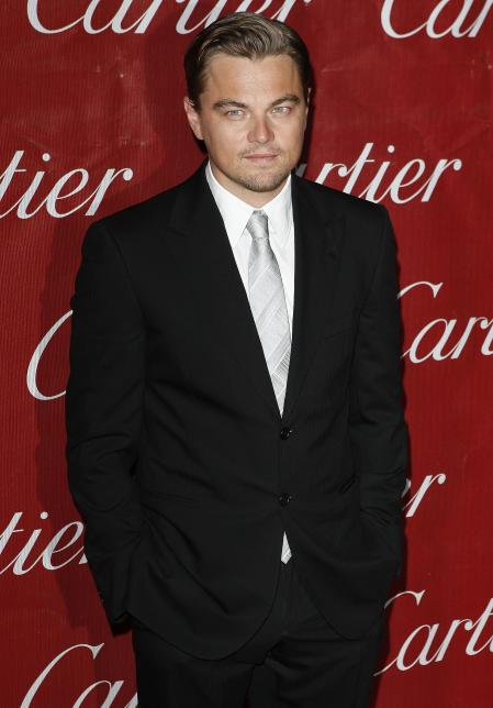 Leonardo DiCaprio at a film festival in Palm Springs