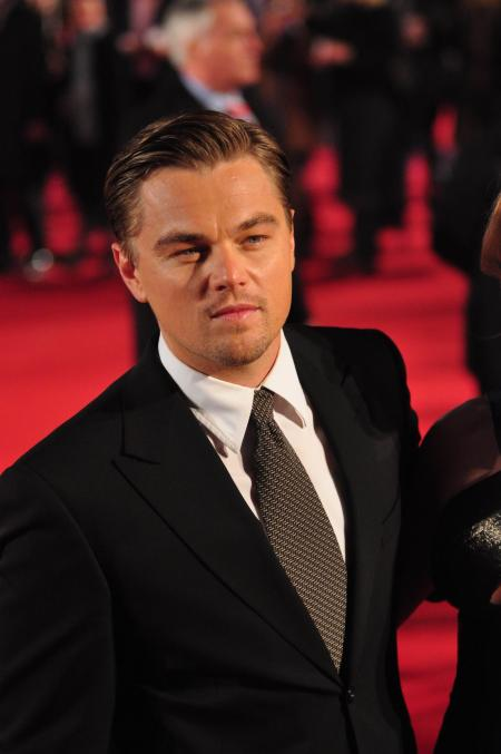 Leonardo DiCaprio at Revolutionary Road premiere