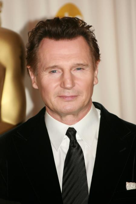 Liam Neeson at the 2009 Oscars