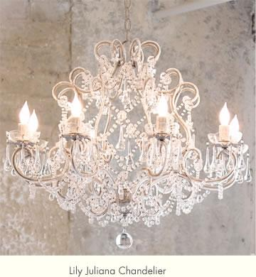 Lily Juliana Chandelier by Rachel Ashwell
