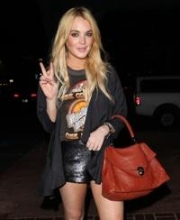Peace, Lindsay Lohan!