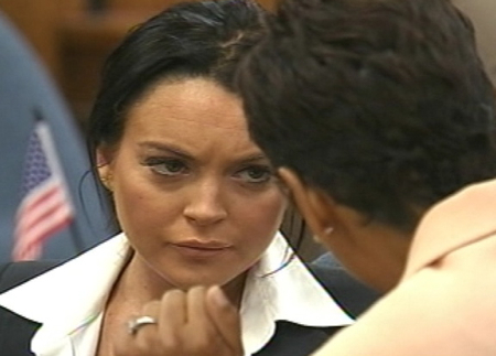 Lindsay Lohan Back in Court