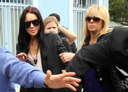 Lindsay Lohan Undergoes 7-Hour Deposition