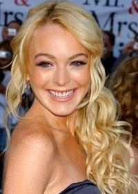 Lindsay Lohan and Heath Ledger