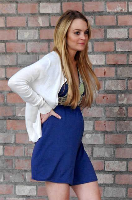 Lindsay Lohan pregnant