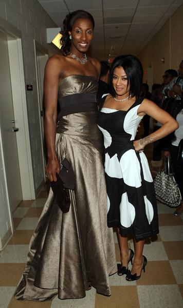 Lisa Leslie and Keyshia Cole