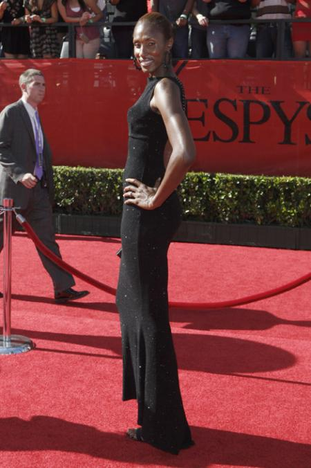 Lisa Leslie at the 2009 ESPYS