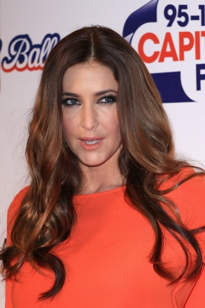 Lisa Snowdon's long and lean look for long faces