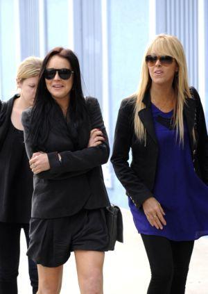 Lindsay and Dinah Lohan