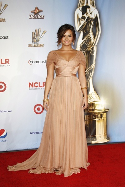 Demi Lovato's sophisticated style