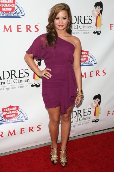 Demi Lovato in stilettos