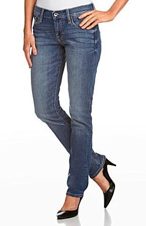 Skinny Straight Leg