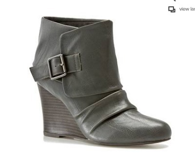 Madden Girl Virtual Wedge Bootie