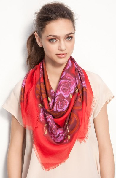 Royal Rose Scarf