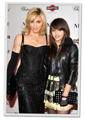 Madonna and Lourdes Leon