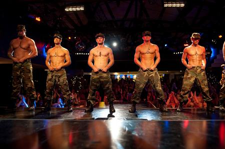 The cast of Magic Mike