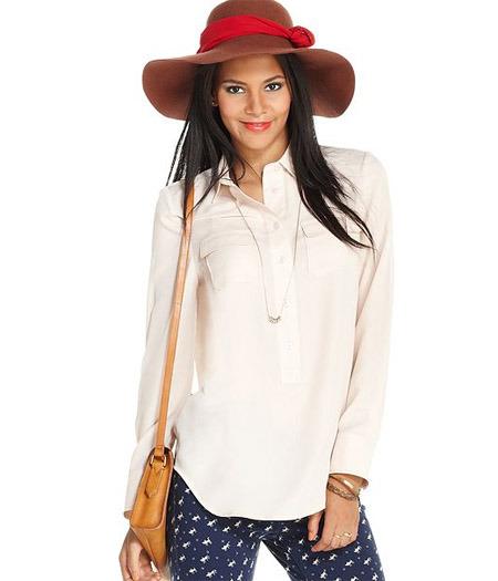 Maison Jules long-sleeved blouse