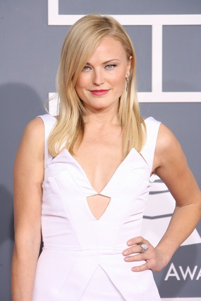 Malin Akerman attends the Grammys