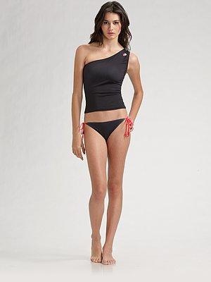 Marc by Marc Jacobs One-Shoulder Tankini