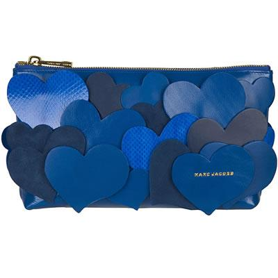 Marc Jacobs Blue Love Story Clutch