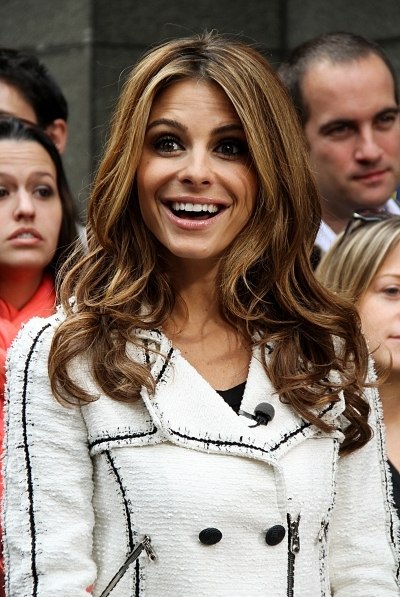Maria Menounos Straight Locks