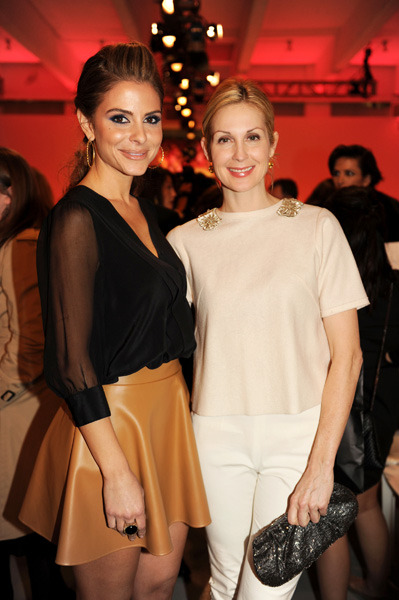 Maria Menounos and Kelly Rutherford