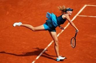 Maria Sharapova at the 2009 French Open