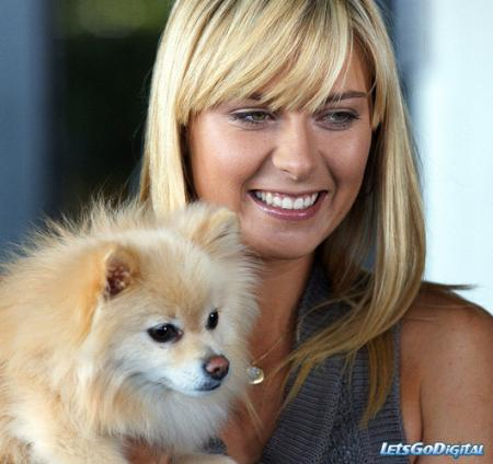 Maria Sharapova and Dolce