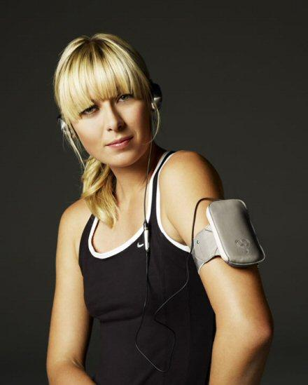 Maria Sharapova and Sony Ericsson