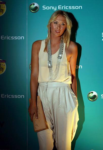 Maria Sharapova at the Kick Off Party