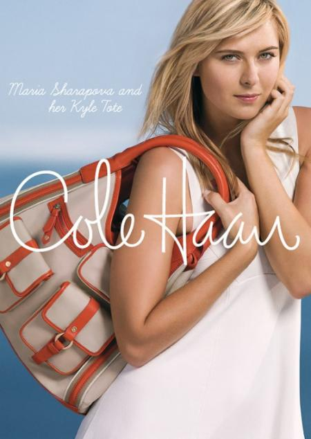 Maria Sharapova for Cole Haan