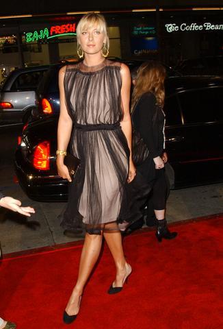 Maria Sharapova on the Red Carpet