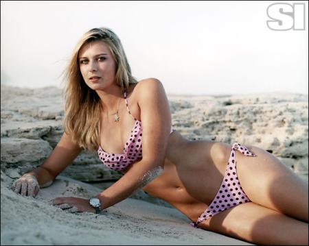Maria Sharapova in Sports Illustrated