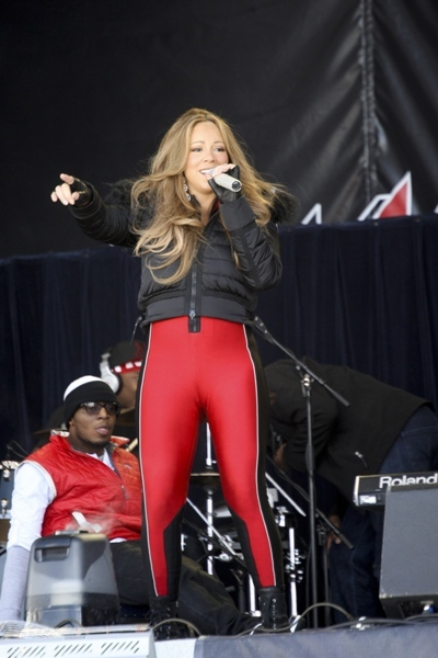 Camel Toe: Mariah Carey