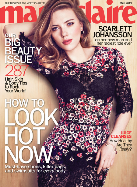Scarlett Johansson on Marie Claire