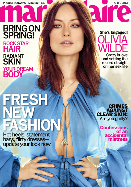 Olivia Wilde on Marie Claire