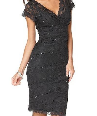 Lace marina dress