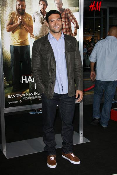 Mark Sanchez at the LA premiere of the Hangover 2