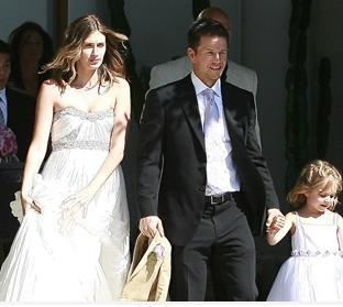 Mark Wahlberg and Rea Dunham