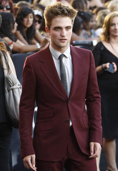 Robert Pattinson Twilight: Eclipse premiere