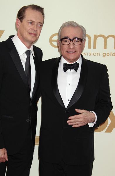 Steve Buscemi and Martin Scorsese