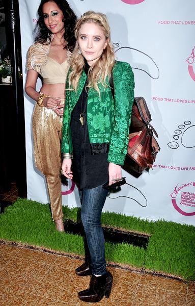 Mary-Kate Olsen goes green