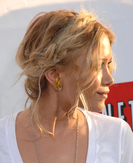 Mary-Kate Olsen's updo