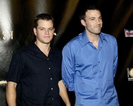 Matt Damon and Ben Affleck in Las Vegas