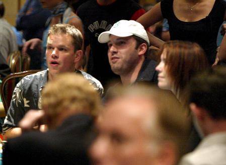 Matt Damon and Ben Affleck play poker