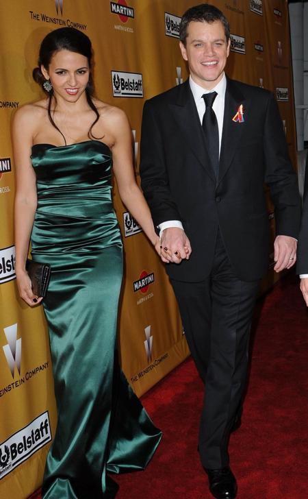 Matt Damon and Wife Luciana Expecting Baby #4