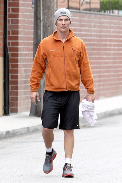 Matthew McConaughey loves his Longhorns