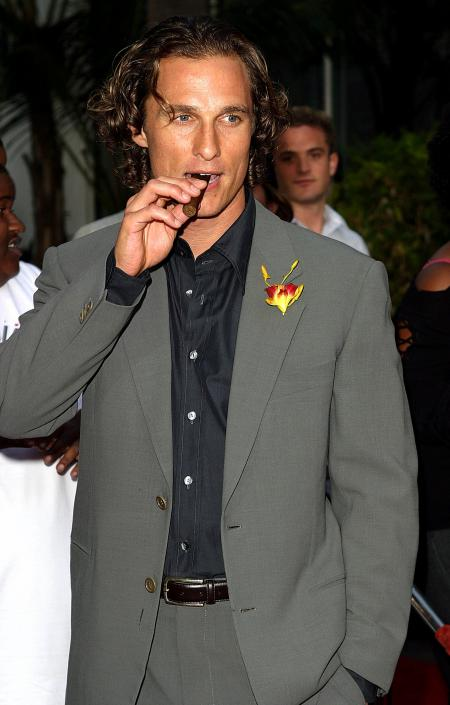 Matthew McConaughey at the 2 Fast 2 Furious premiere